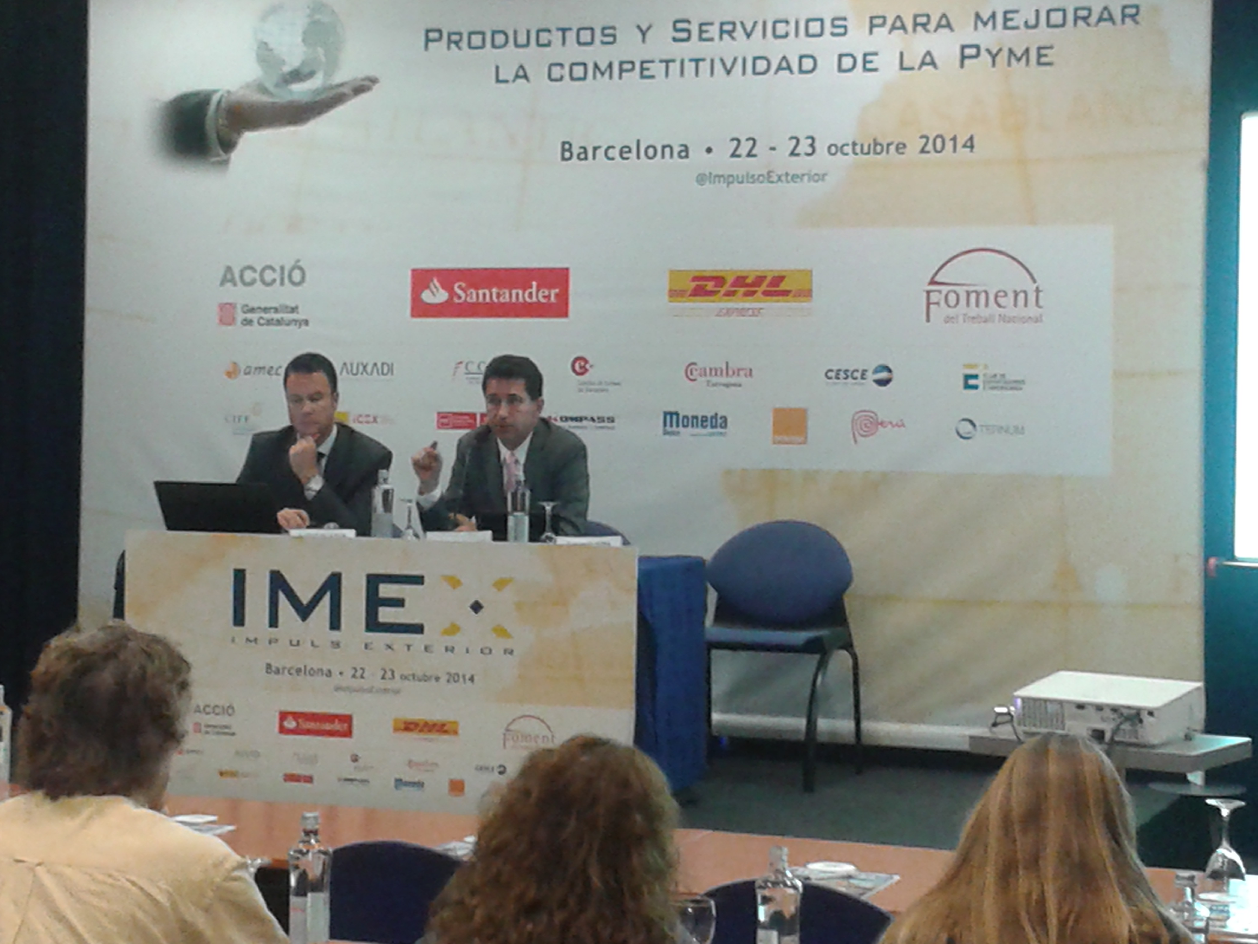 Evalue Asesores obtiene un elevado reconocimiento en IMEX-Barcelona